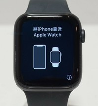 Apple Watch Series 6 Aluminum Case 44mm (GPS) M00H3LL/A Sp Gry Blk Sp Band - $356.20