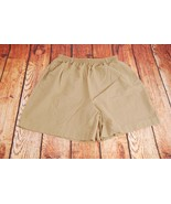 Prestige of Boston Elastic Waist Lightweight Khaki Shorts - See measurem... - $12.60