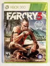 Far Cry 3 (Microsoft Xbox 360, 2012) No Booklet, VG - $12.86