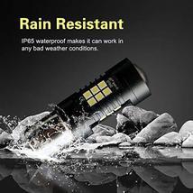 1156 LED Bulbs 2400 Lumens Xenon White Extremely Bright BA15S 7506 1003 1141 107 image 8