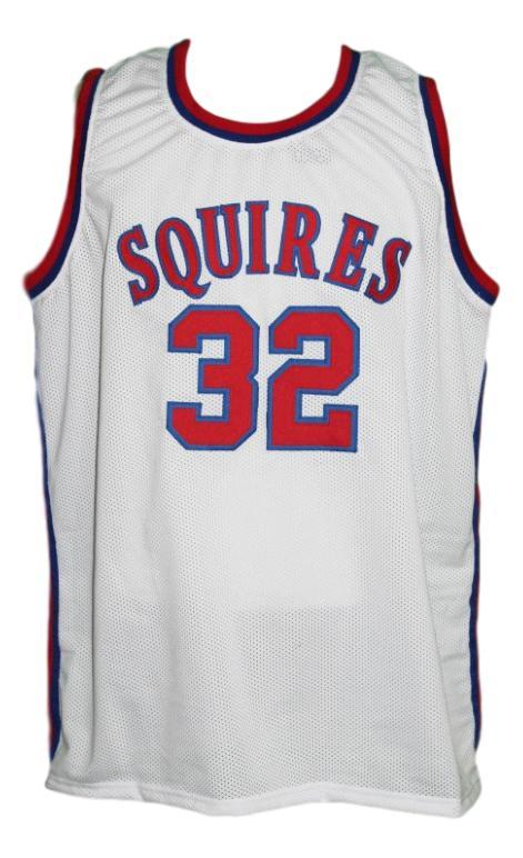 Julius erving  32 virginia squires aba basketball jersey white   1