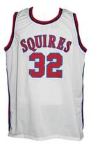 Julius Erving #32 Virginia Squires Aba Retro Basketball Jersey White Any Size image 1