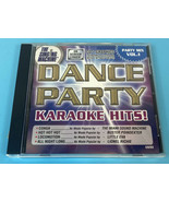 The Singing Machine Karaoke CD+G Dance Party Mix Vol 1 Very Clean Disc T... - $6.45
