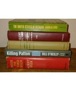5 Vtg War Books WW2 Vietnam Silent Victory Killing Patton Inside the Thi... - $9.90