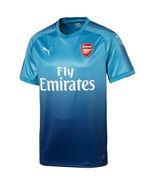 Arsenal Puma 2017/18 Away Replica Blank Jersey - Blue (L) - $80.00