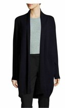 $495 NWT Vince 100% Cashmere Open Front Long Sleeve Navy Cardigan sz XS - $249.99