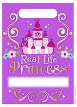 Sofia the 1st Party Favor Loot Treat Bag 8 Per Package Birthday Party Su... - $2.92