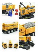 Bandi Toys Construction Heavy Equipment Vehicle Car Crane Dump Truck Toy Set image 8