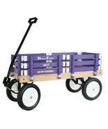 Purple BERLIN FLYER CLASSIC Wooden No Tip WAGON -  MADE in the USA - $225.37