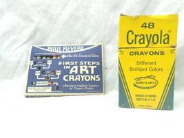 Vintage Crayons Paul Revere Wax Crayons & Crayola Binney & Smith 48 pack - $19.79