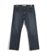 "Levis Mens Jeans Size 34 Relaxed Straight 559 Leg Medium Wash Denim 32"" Inseam - $24.07"