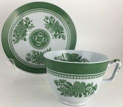 Spode Fitzhugh Green Cup & saucer - $10.00
