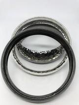 Black and silver chunky bracelets - $2.97