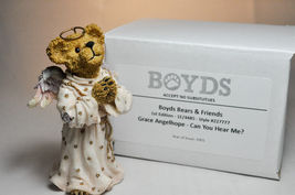 Boyds Bears: Grace Angelhope - Can You Hear Me? - 1st Edition 1E/ 4485 # 227777 image 5