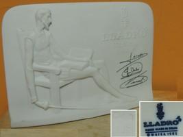 Lladro Collectors Society Don Quixote Plaque 1985 Signed Figurine marked... - $31.49