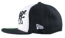 Dissizit 59Fifty New Era Fitted Funking It UP Cap/Hat Black White image 5