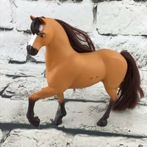 "DreamWorks Spirit 6"" Horse Tan Stallion Model Pony Flaw - $7.91"