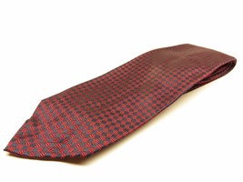Polo Ralph Lauren Tie Allover Pattern 100% Luxury Silk Necktie Made in USA - $23.72