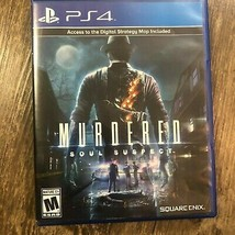 MURDERED: SOUL SUSPECT -- Playstation 4 -- PS4 -- Free Shipping - $11.52