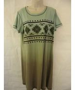 Ladies BACK IN THE SADDLE Night Sleepshirt Pajama Size Large  - $17.71