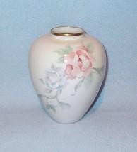 """Lenox Chatsworth Ginger Jar Vase 6"""" Gold Trim - $14.99"""