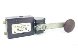 AIR-MITE 3-WAY SOLENOID VALVE WITH LEVER HANDLE image 1