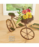 Twig Style Floral Bicycle Tabletop Decoration  - $38.66