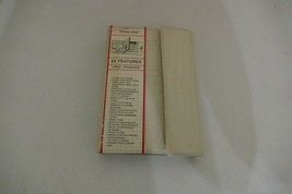 """Vintage RECORD TIME 22-Feature Large Organizer 7.5"""" x 5"""" - $4.99"""