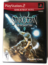 Star Ocean: Till the End of Time PS2 Greatest Hits (Sony PlayStation 2, ... - $17.99