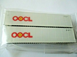 Fox Valley Models # FVM 891204 OOCL 40' Reefer Container 2/Pack N-Scale image 1