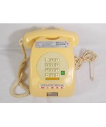Tongya TY-006V Coin Operated Push Button Corded Telephone Phone Cream No... - $15.83
