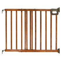 Summer Infant Deluxe Stairway Simple to Secure Wood Gate - $58.68