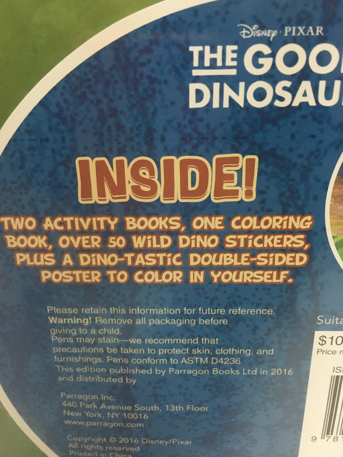 The Good Dinosaur Movie Activity Books & More Graphic Tin Storage