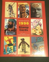 Treasury of Stamp Cards 1996 United States Postal Service USPS Collectib... - $5.90