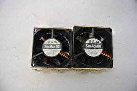 Sanyo Denki San Ace 80 109P0812C2041 12V .55A Server Fans, Lot 2 - $13.50