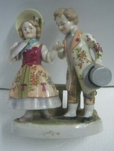Antique Figures Figurine in porcelain Germany a couple - $60.43