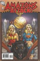 Amazons Attack #3 DC Comics 2007 Will Pheifer & Pete Woods - $4.89