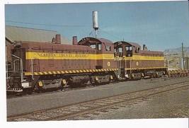 Carbon County Railway Company Number 1201 & 1202 Vintage Unused Postcard - $2.98