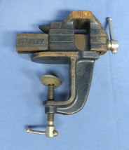 "Vintage Stanley No.2 Anvil Bench Vise, 2"" Jaws Capacity EC! - $59.99"