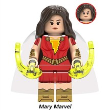 Mary Marvel (Mary Bromfield) DC Comics Shazam Theme Lego Minifigures Toy... - $1.99