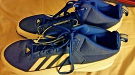 Adidas Men's Baseball Blue White Metal Cleats Size 13 NEW - $15.58