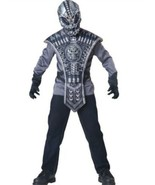 Alien Costume Kids Scary Halloween Boys In Character Size 6+ Gray Black USA - $16.92