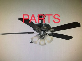 """PARTS ONLY for Hampton Bay Glendale 52"""" Brushed Nickel Ceiling Fan - $5.93+"""
