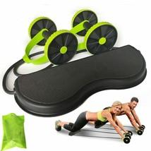 New Abdominal Trainer Ab Roller Wheel Abdominal Trainer Arm Waist Leg Ex... - $42.46