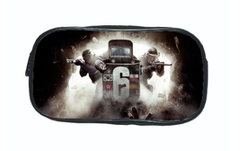 This collection of Pencil boxes features Rainbow Six Siege. - $11.99