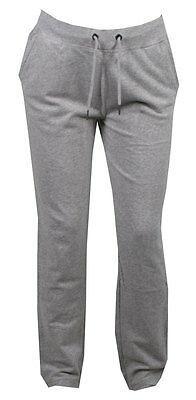 Bench Adhesivo Pantalón Mujer Algodón Elástico Sweats Pantalones de Chándal Gris