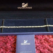 Swarovski Tennis Bracelet /6/3 - $112.75