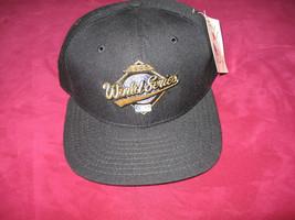 1995 World Series New Era Pro Model HAT Braves vs Indians New W/ TAGS        B - $34.64
