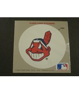 """1991 Fleer Logo Stickers Cleveland Indians """"Chief Wahoo"""" Banned - $2.97"""