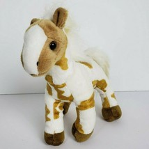 Wildlife Artists Horse Pony Plush Stuffed Sounds White Brown Bass Pro Sh... - $13.94
